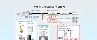 세계 최초, 1700V SiC MOS 내장 AC/DC 컨버터 IC : 교류 400V 산업기기용 전원의 대폭적인 소형화, 저전력화, 효율 향상이 용이